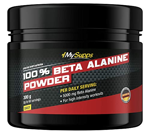 My Supps Pure 100% Beta Alanine - 5000mg Aminosäure (Pulver)