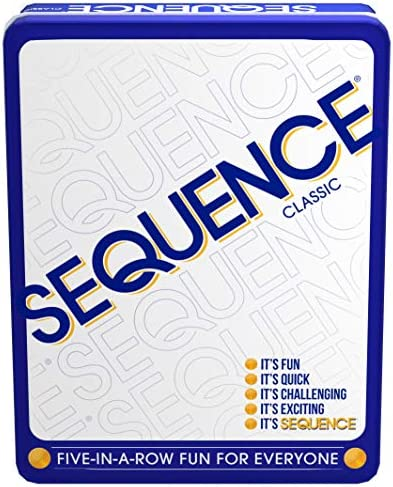 Sequence in a Tin Five in a Row Fun for Everyone by Jax product image
