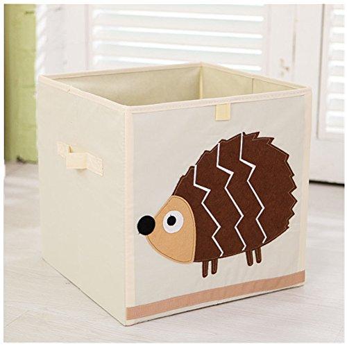 Jouet Enfant pliable boîte de rangement et placard organisateu (Hedgehog)