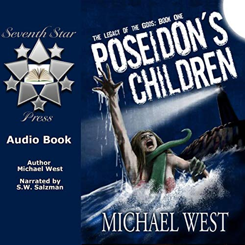 Poseidon's Children audiobook cover art