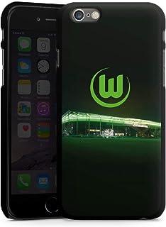 DeinDesign Hard Case kompatibel mit Apple iPhone 6s Schutzhülle schwarz Smartphone Backcover Offizielles Lizenzprodukt VFL Wolfsburg Stadion