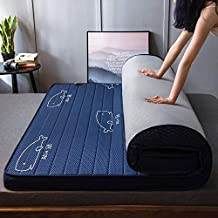WTYD New Home Textile Natural Latex Memory Foam Filled Stereo Breathable Mattress, Thickness:6cm, Size:180X200 cm(Starry) ...