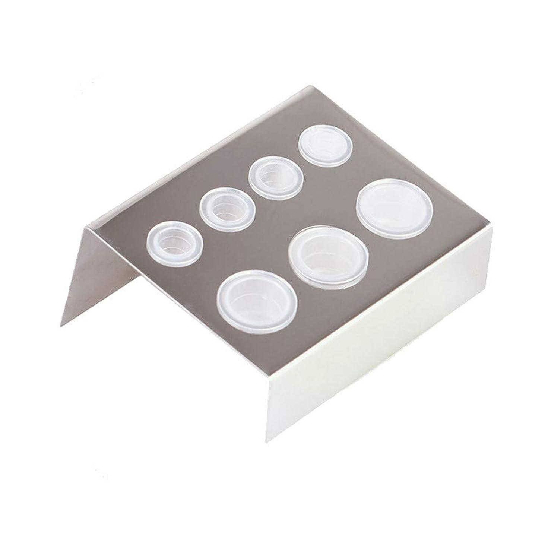 連隊お酢問題Honel タトゥー インクカップ ホルダー 収納ラック 顔料 カップホルダー 耐久性ある インクカップホルダー タトゥーアクセサリー