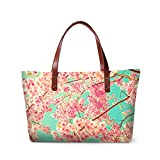 ZRENTAO Ladies Zippered Shopping Bag