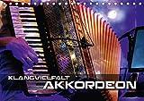 Klangvielfalt Akkordeon (Tischkalender 2021 DIN A5 quer): Konzert- und Nahaufnahmen verschiedener Akkordeons (Monatskalender, 14 Seiten )