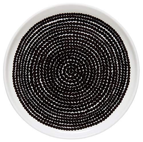 Marimekko Räsymatto Plate 13,5 cm White, Black