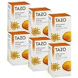 Tazo Wild Sweet Orange Herbal Tea, 20 ct(Pack of 6)