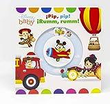 Disney Baby. ¡Pip, pip! ¡Rumm, rumm!: Libro de cartón con mecanismos