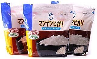 マンナンヒカリ 4.5kg[1.5kg×3袋]