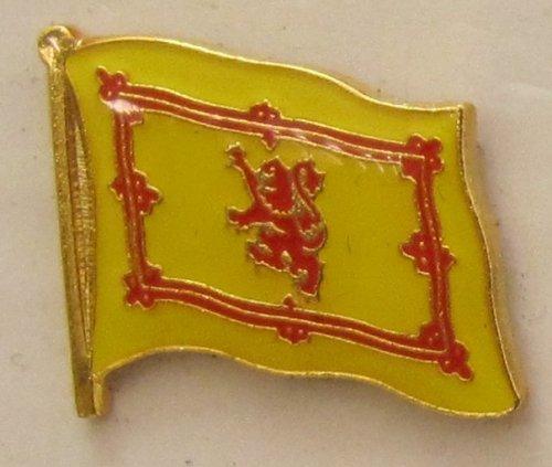 Pin Anstecker Flagge Fahne Schottland Royal Steward Flaggenpin Badge Button Flaggen Clip Anstecknadel