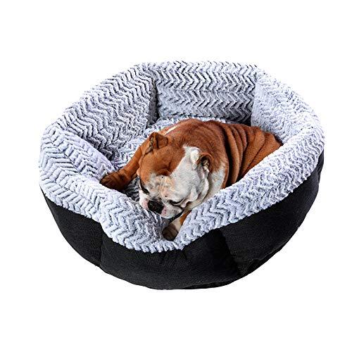 Cama para Mascotas, con una Alfombra Suave para Mascotas, Cama para Gatos Perros, Cama Suave de Felpa de tamaño Mediano -120cm