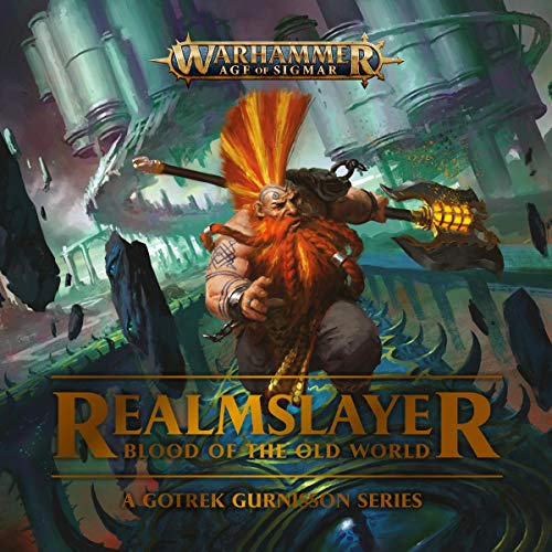 Realmslayer: Blood of the Old World audiobook cover art