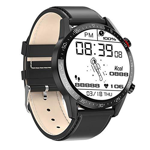 RCH L13 Smart Watch GT05 ECG De Los Hombres + PPG Impermeable Bluetooth Llamada Moda Pulsera Pulsera Presión Arterial Fitness Smartwatch PK L7 para Android iOS,E