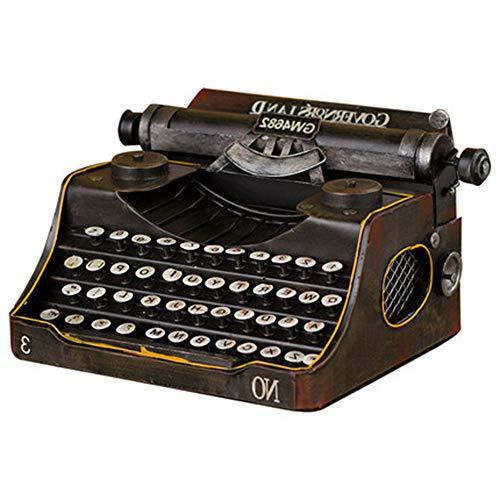 Maniny Antike Schreibmaschine Retro Vintage klassisches englisches Schreibmaschinenmodell Heimstudiendekoration Film Requisiten