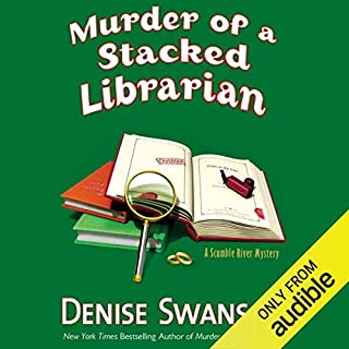 Murder of a Stacked Librarian audiobook cover art