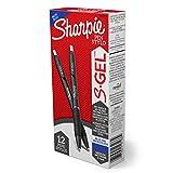 Sharpie S-Gel, Gel Pens, Medium Point (0.7mm), Purple Gel Ink Pens, 12 Count