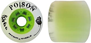 Atom Poison Wheels - Atom Poison Skate Wheels - 84A Hybrid Derby Wheel