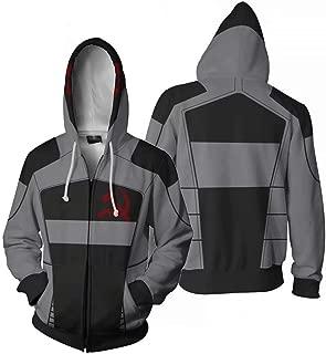Borderlands Zero Game Men's 3D Sweatshirts Long Sleeve Hooded Hoodies with Pocket Jacket Coat