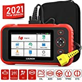 LAUNCH Scan Tool 129I OBD2 Scanner Automotive Code Reader Android Based Diagnostic Tool for Engine Transmission ABS SRS with Oil/EPB/SAS/TPMS/Throttle Body Reset and AutoVIN Wi-Fi Updates