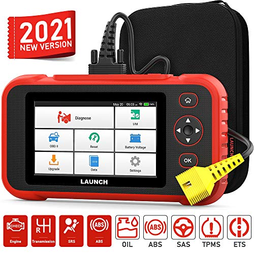 "LAUNCH Scan Tool-Creader Pro OBD2 Scanner Professional Automotive Scanner for Mechanic, Engine ABS SRS Transmission Scanner with 5 Reset Service,5"" Touch Screen Car Diagnostic Scanner for All Cars"