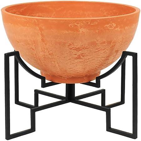 Amazon Com Achla Designs Fb 58 S Plant Stand Denise Ii Terra Cotta Garden Outdoor