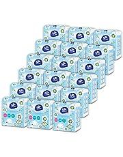 【ケース販売】vinda ソフトパックティッシュ 150組300枚×5個×18パック FSC認証