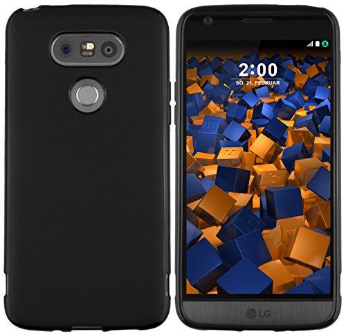 mumbi Hülle kompatibel mit LG G5 Handy Case Handyhülle, schwarz