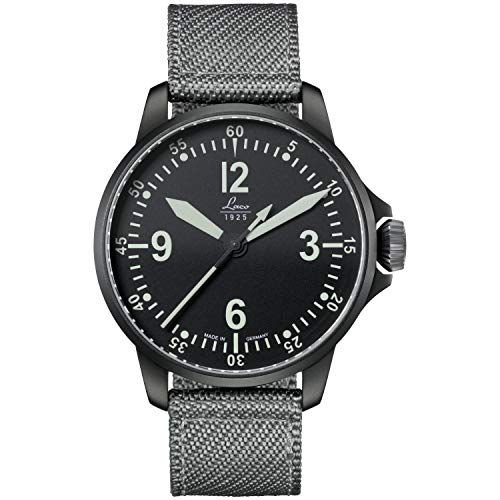 Laco 1925 Reloj Analógico para Hombres de con Correa en Nailon 861907