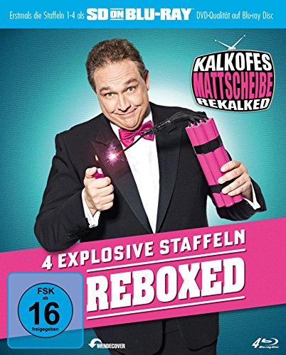 Kalkofes Mattscheibe Rekalked - Reboxed! (Staffel 1-4) [Blu-ray]