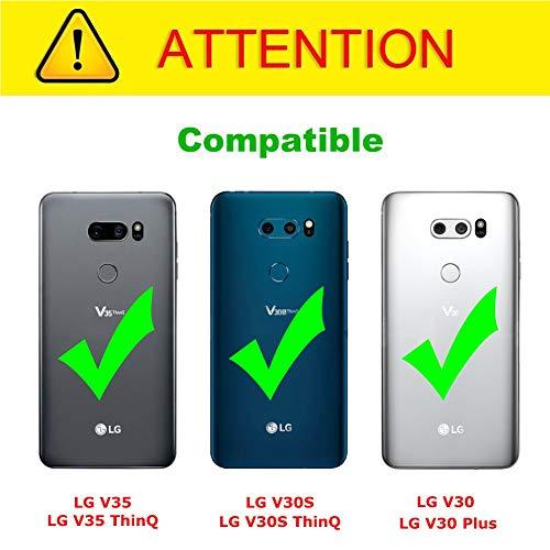 J&D Compatible para LG V35/LG V30S/LG V30S ThinQ/LG V30/LG V30 ...