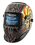 Shop Iron 41283 Solar Powered Auto Darkening Welding Helmet