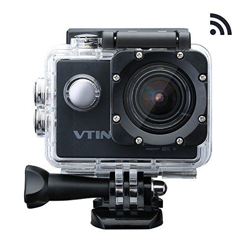 VicTsing Eypro1 Cámara Acción Deportiva WIFI 1080P Resistente al Agua,1080p...