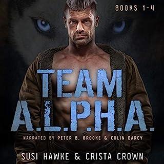 Team A.L.P.H.A. Books 1-4 cover art