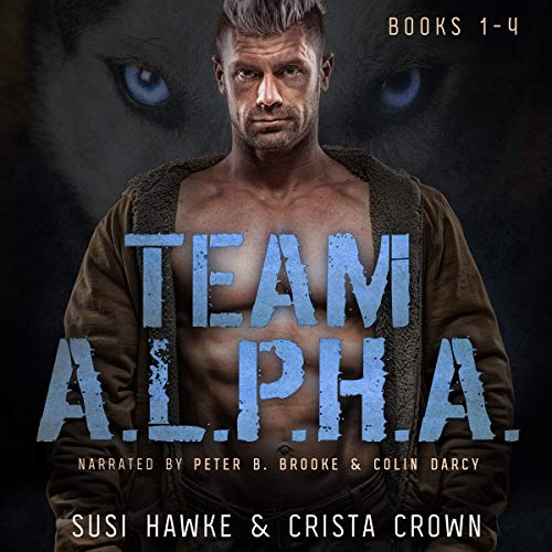Team A.L.P.H.A. Books 1-4 cover art