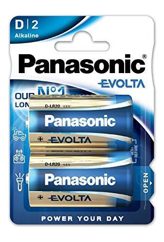 Panasonic Batterie Mono/D EVOLTA Alkaline