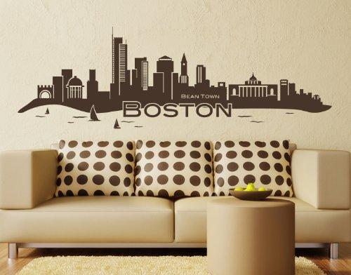 boston skyline decal - 9