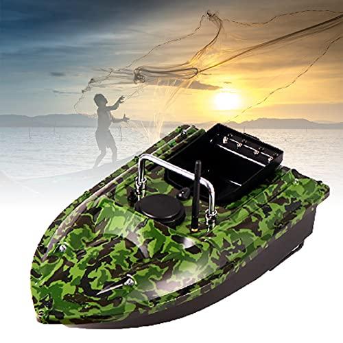 DestinyXVZ Barco Cebador, Wireless Barcos Cebador, Buscador Peces, Motor Doble, LED Light, Waterproof, Windproof & Waveproof