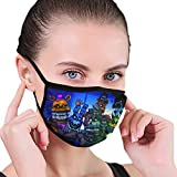 Material description :100% polyester Unisex Adult Face Mask Very soft, breathable, washable, with buttons to adjust the tightness, can protect your mouth and face from dust cold dust pollen allergies, fog and haze exhaust emissions from passive smoki...