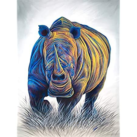 A356 Rhinoceros Statue Rhino Interior Design Decoration/_IU Artpeople