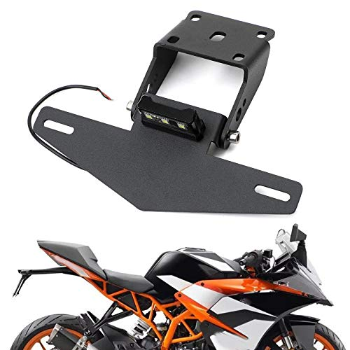 Areyourshop CNC-Motorrad-Kennzeichenhalterung für K-T-M Duke 390 2017-2019