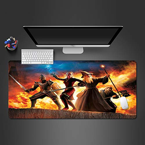 Mouse pad high-end gaming mouse pad gear gioco giocatore mouse pad computer game tastiera tappetino tastiera 900x400x2