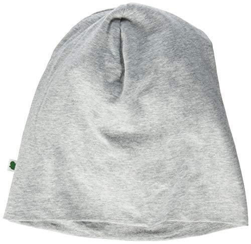 Fred's World by Green Cotton Boys Alfa Beanie Hat, Pale Greymarl, 128/134