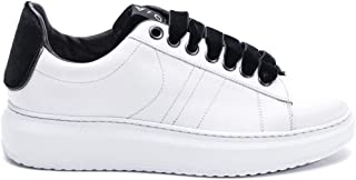 D'ACQUASPARTA Luxury Fashion Womens COURTHIGHTWCAVN White Sneakers | Fall Winter 19