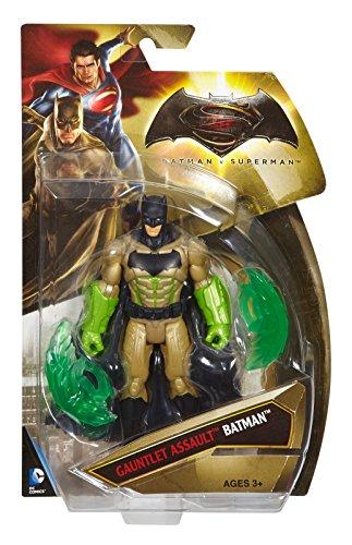 Mattel Djg36 – Batman Vs. Superman – Gauntlet Assault Batman – Personaggio 15Cm