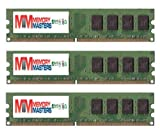 MemoryMasters 6GB (3 x 2GB) DDR2 DIMM (240 PIN) AM2 800Mhz PC2 6400 / PC2 6300 for Foxconn Destroyer 6 GB (Renewed)