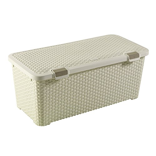 CURVER container STYLE 72L Style Box 72L container, polypropyleen, crème, 79x40x33, 4