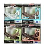 Dos rollos con ventana autoadhesivo - & sello de la puerta (insonorizado & resistente al calor) de 'Powerfix' en diferentes tamaños & coloures, junta de goma e // P-perfilar w, UV - & resistente a la intemperie