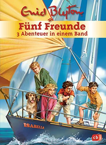 Fünf Freunde - 3 Abenteuer in einem Band: Sammelband 2: Fünf Freunde auf hoher See / Fünf Freunde und das Schildkrötengeheimnis / Fünf Freunde und das ... feinen Dame (Doppel- und Sammelbände, Band 2)