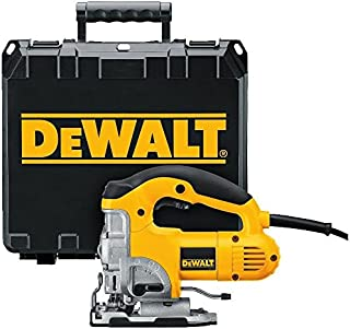 DEWALT Jig Saw, Top Handle, 6.5-Amp (DW331K)