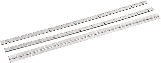 Livraison gratuite Long continu. 1 x 900 mm Longueur en plastique blanc Piano Charnière